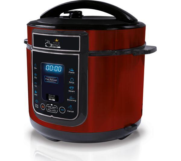 King Mini Kitchen: Buy PRESSURE KING Pro Digital Pressure Cooker - Red