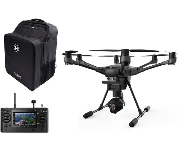 Image of YUNEEC Typhoon H Drone with Controller & Accessories Bundle - Black