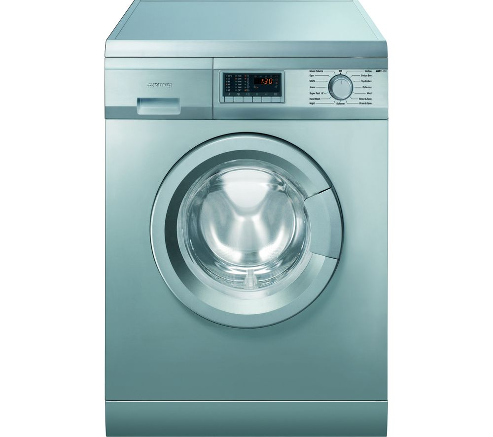 SMEG WMF147X-2 Washing Machine – Stainless Steel, Stainless Steel