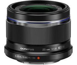 OLYMPUS M.Zuiko Digital 25 mm f/1.8 Standard Prime Lens