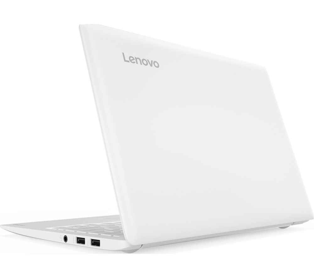 "LENOVO Ideapad 110S-11IBR 11.6"" Laptop - White + Office 365 Personal + LiveSafe Premium - 1 user / unlimited devices for 1 year"