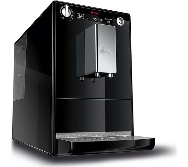 Caffeo Solo E950 101 Bean To Cup Coffee Machine Black
