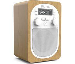Evoke H2 Portable DAB/FM Radio - Oak