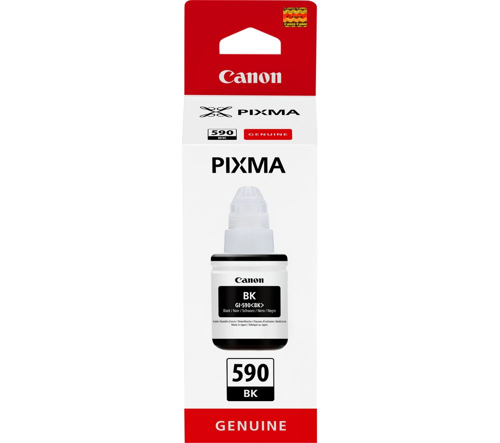 CANON GI-590BK Black Ink Bottle