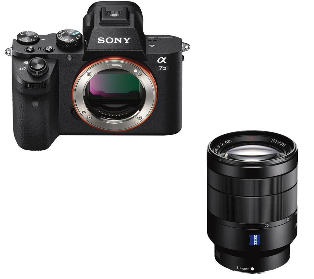 SONY a7 II Mirrorless Camera & Vario-Tessar Standard Zoom Lens Bundle