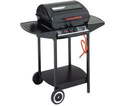 Grill Chef 12375 Dual Burner Grill Gas BBQ - Black