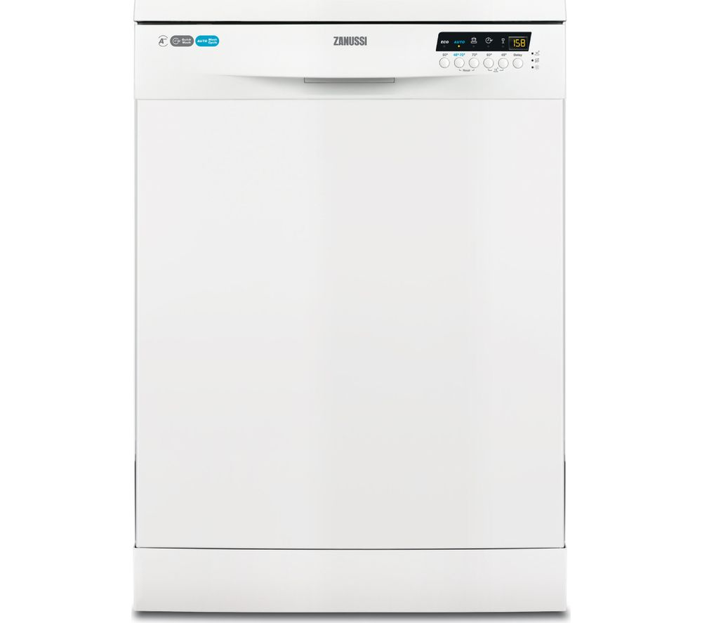ZANUSSI ZDF26020WA Full-size Dishwasher - White
