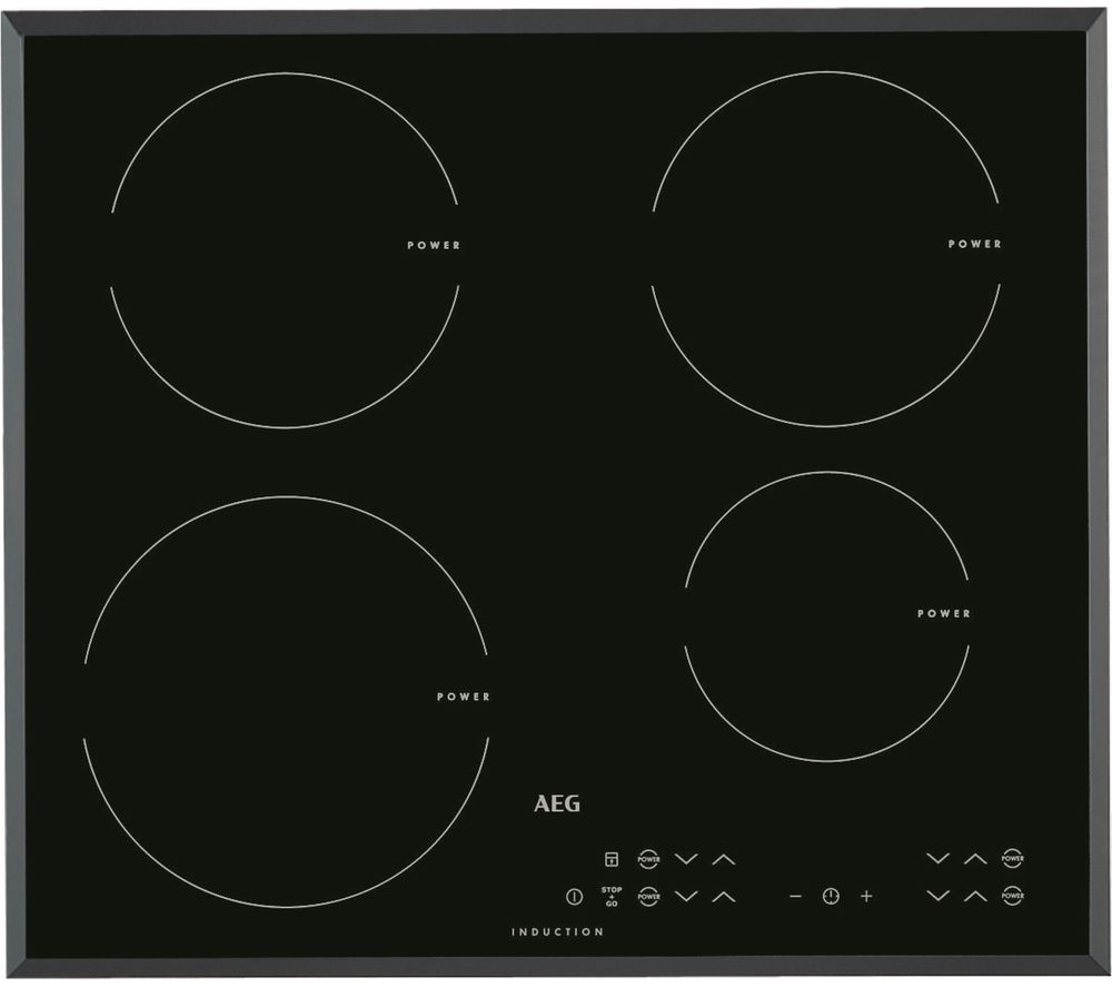 AEG HK634200FB Electric Induction Hob - Black