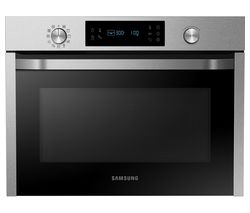 SAMSUNG NQ50J3530BS/EU Built-in Combination Microwave - Stainless Steel