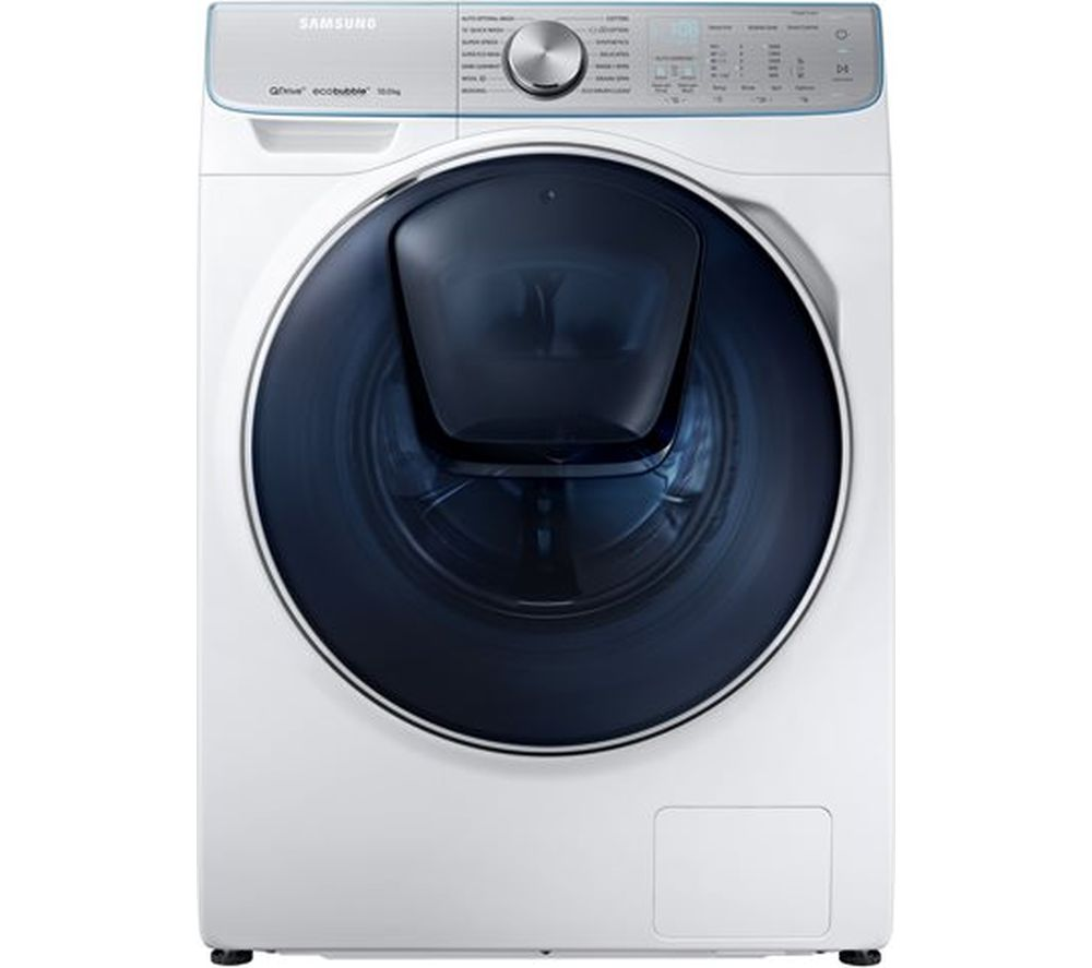buy samsung quickdrive ww10m86dqoa smart 10 kg 1600 spin washing machine white free delivery. Black Bedroom Furniture Sets. Home Design Ideas