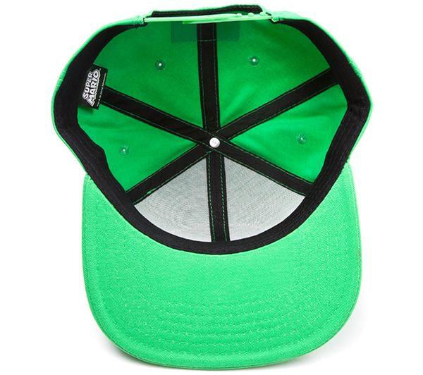 Buy NINTENDO Luigi Logo Snapback Cap - Green  36e88a95be1f