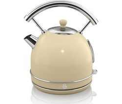 SWAN Retro SK34021BLN Traditional Kettle - Cream