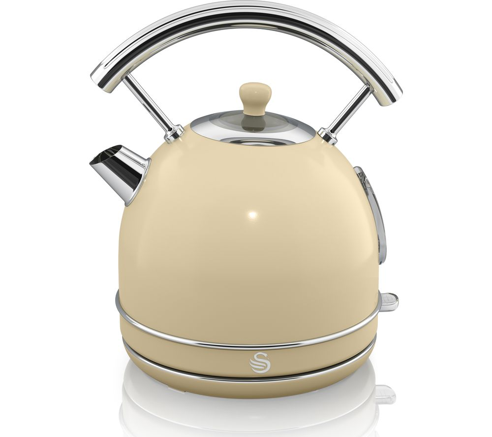 Image of SWAN Retro SK34021BLN Traditional Kettle - Cream, Cream