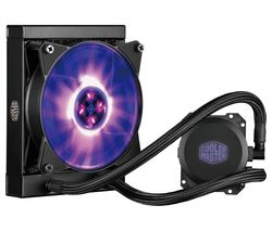 COOLERMASTER Master Liquid 120 mm CPU Cooler - RGB LED