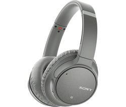 SONY WH-CH700N Wireless Bluetooth Noise-Cancelling Headphones - Grey