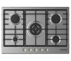 HOOVER HGH75SWCE X Gas Hob - Stainless Steel Best Price, Cheapest Prices