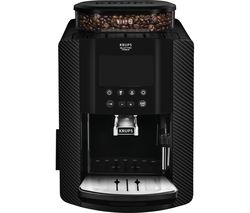 KRUPS Arabica Digital EA817K40 Bean to Cup Coffee Machine - Carbon