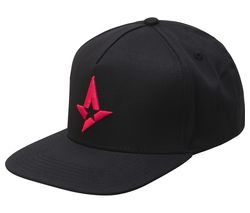 Snapback Cap - Black & Red