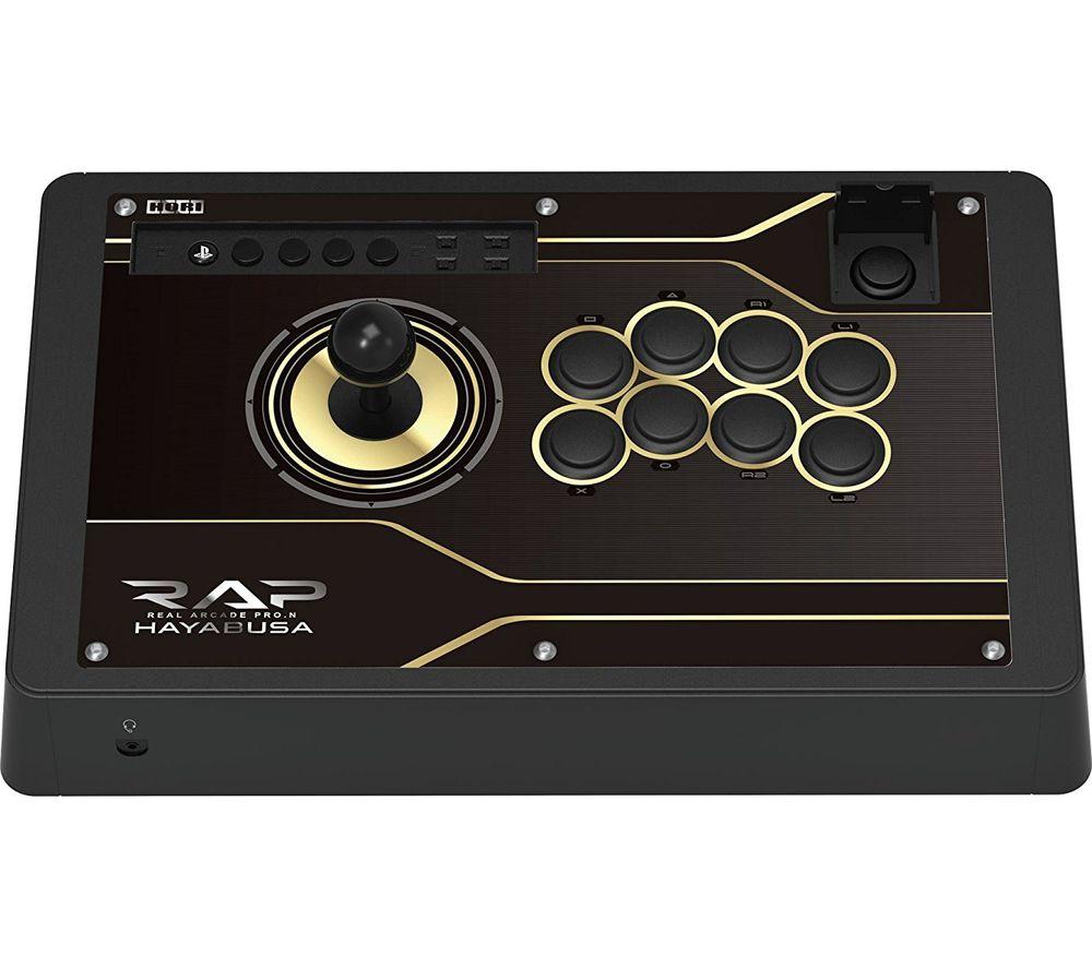HORI Real Arcade Pro N Hayabusa Joystick - Black, Black