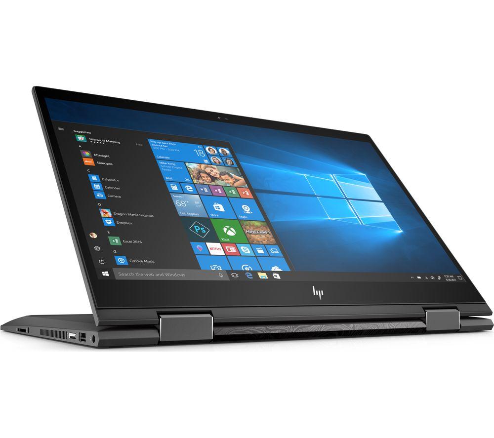 """HP ENVY x360 15-cp0599sa 15.6"""" AMD Ryzen 7 2 in 1 - 1 TB HDD & 256 GB SSD, Silver, Silver"""