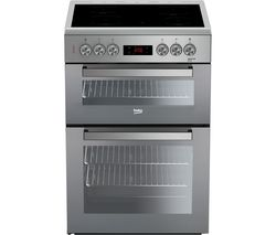 BEKO Pro XDC663SM 60 cm Electric Cooker - Silver Best Price, Cheapest Prices