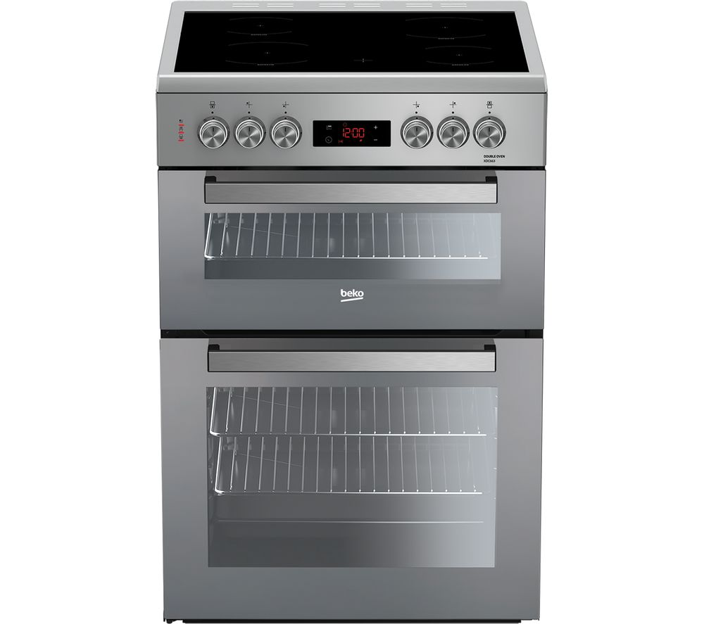 buy beko pro xdc663sm 60 cm electric cooker silver free delivery rh currys co uk Bathroom Electrical Wiring Diagram Wiring Multiple Outlets