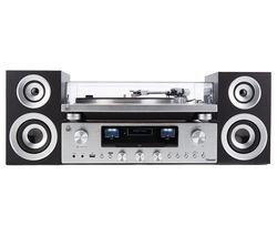 PR100 Turntable with PR200 CD, Amplifier & Speaker System Bundle