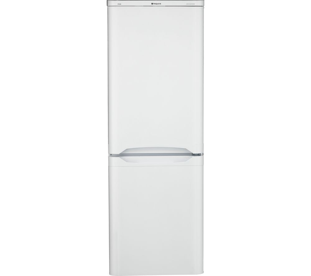HOTPOINT HBD 5515 W UK 50/50 Fridge Freezer - White, White