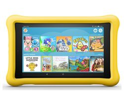 "AMAZON Fire HD 8"" Kids Edition Tablet (Oct 2018) - 32 GB, Yellow"
