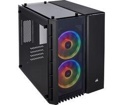 Crystal Series 280X microATX Mini Tower PC Case