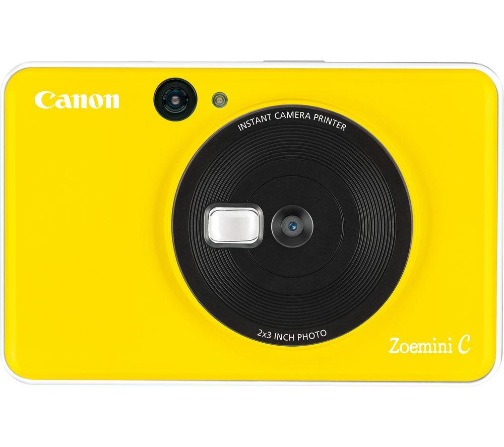 Canon Zoemini C Instant Camera Yellow Yellow