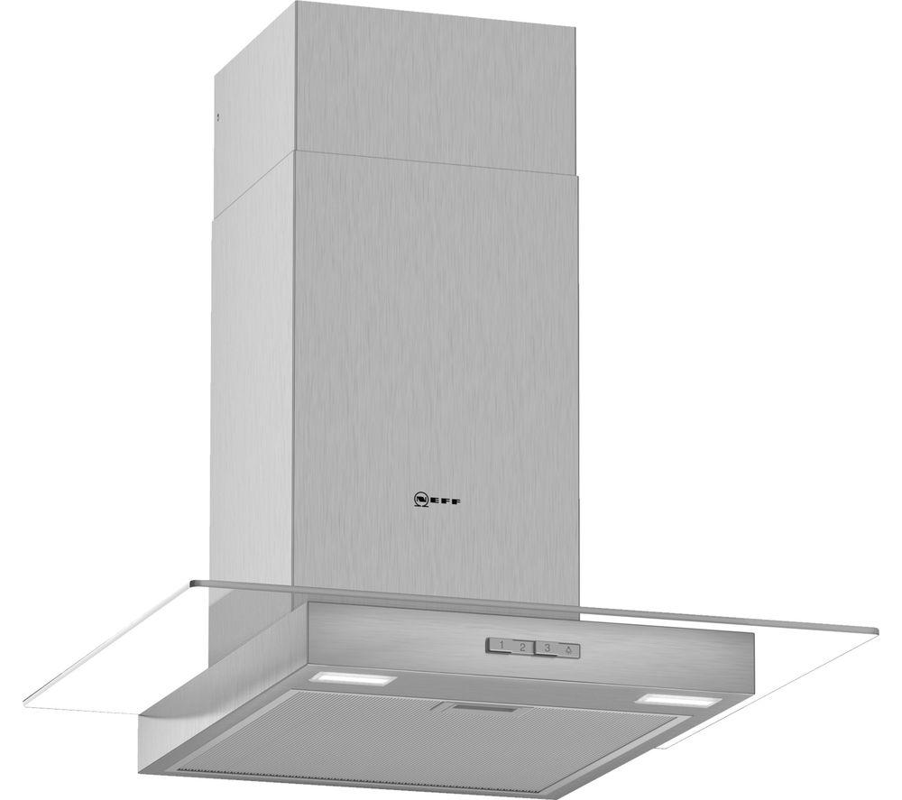 NEFF N30 D64GBC0N0B Chimney Cooker Hood - Stainless Steel
