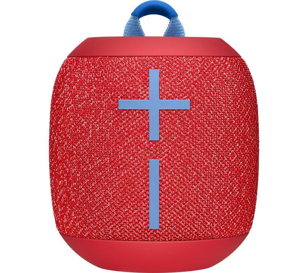 ULTIMATE EARS WONDERBOOM 2 Portable Bluetooth Speaker - Red, Red