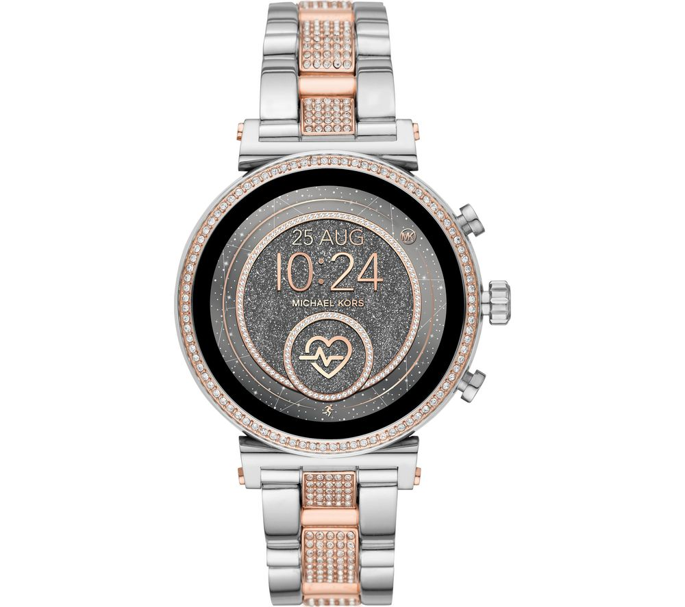 MICHAEL KORS Access Sofie Heart Rate MKT5064 Smartwatch - Silver & Rose Gold