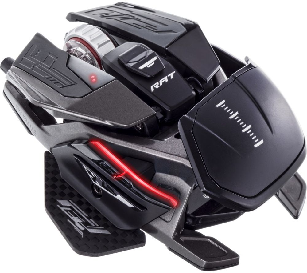 Image of MAD CATZ R.A.T. PRO X3 RGB Optical Gaming Mouse, Titanium