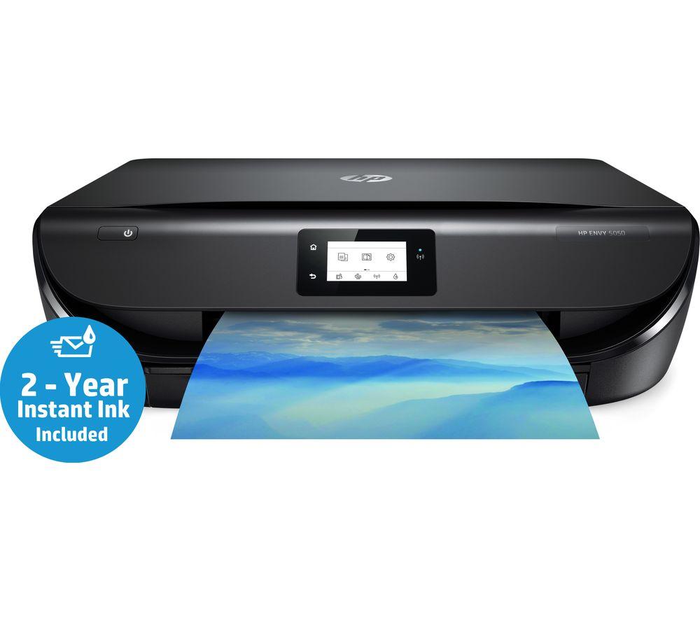 HP Envy 5050 All-in-One Wireless Inkjet Printer