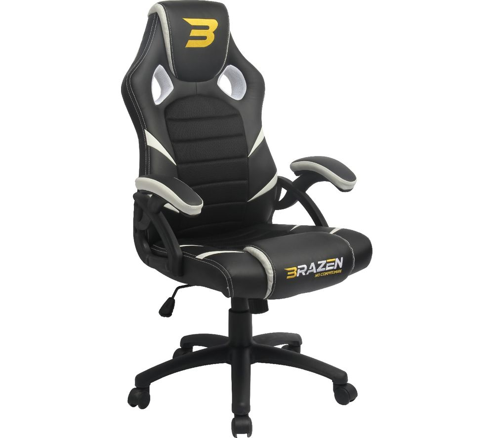BRAZEN Puma Gaming Chair - White