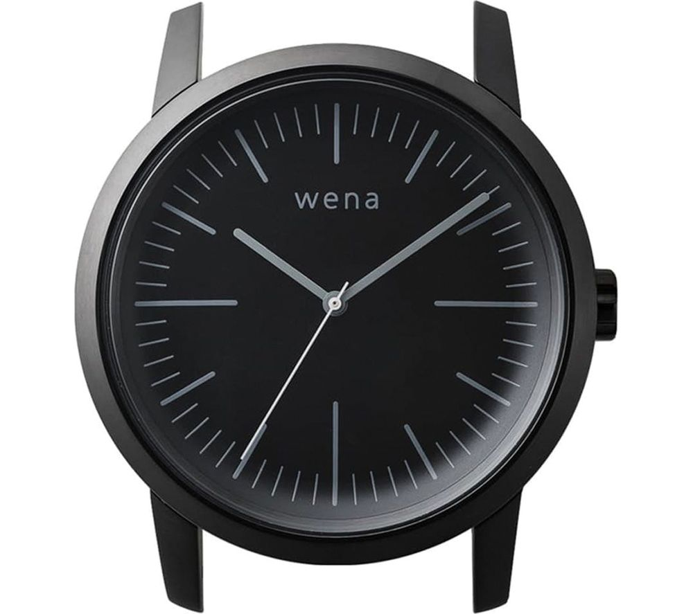 SONY Wena Three Hands Watch Head - Black