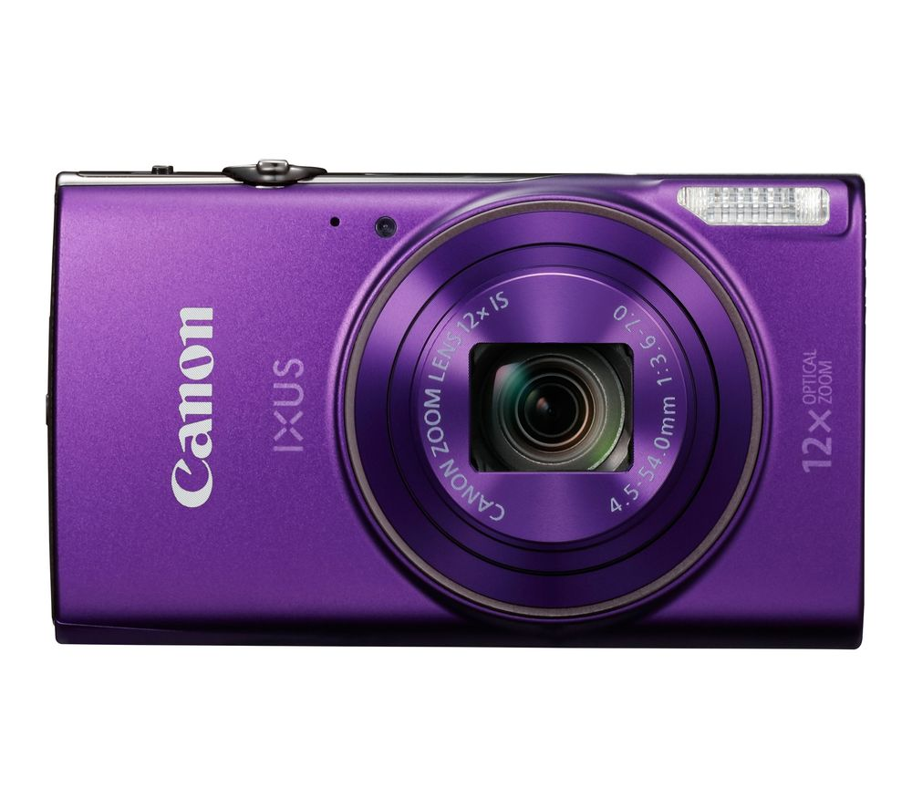 Click to view product details and reviews for Canon Ixus 285 Hs Compact Camera With 32 Gb Sd Card Case Purple Purple.