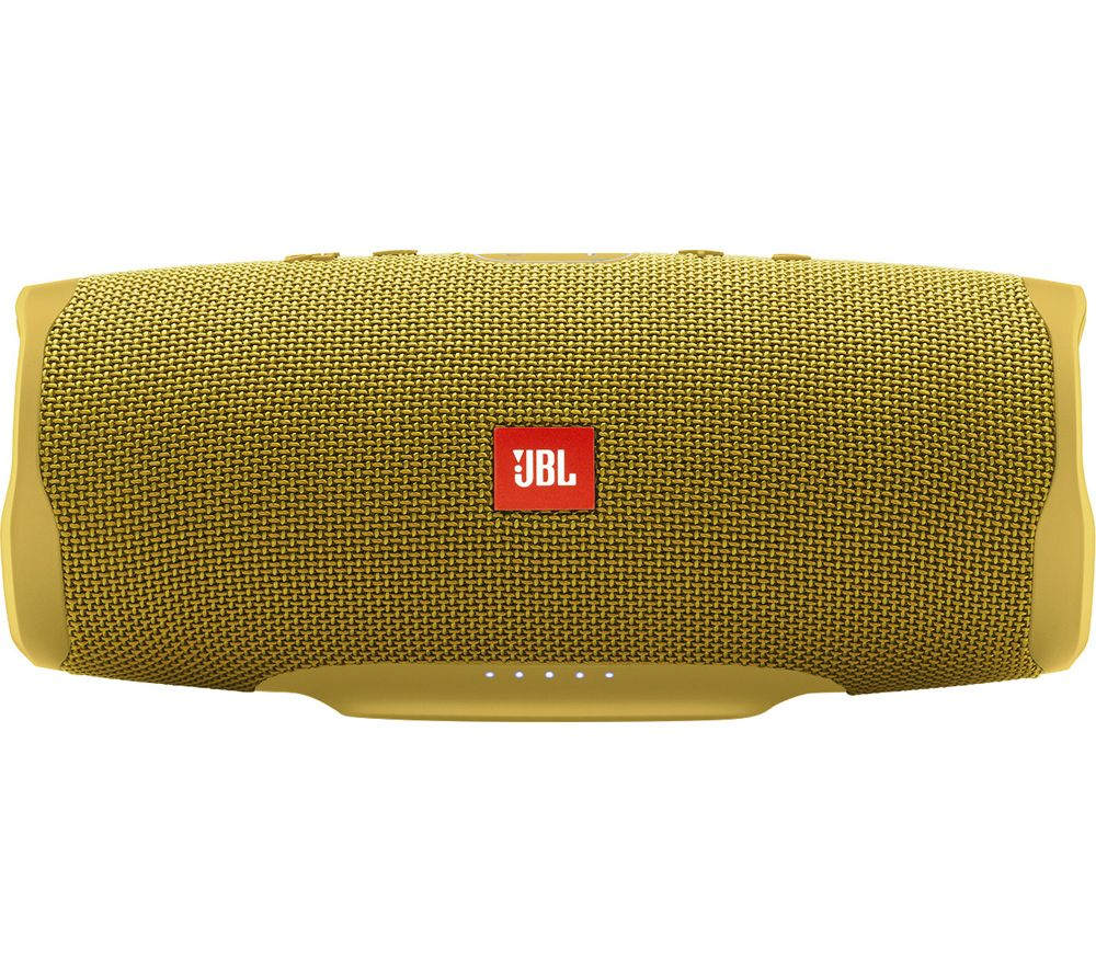 Charge 4 Portable Speaker - Mustard Yellow, Yellow