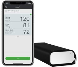 QardioArm Smart Blood Pressure Monitor - White & Black