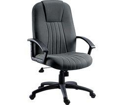 City Fabric Tilting Executive Chair - Charcoal