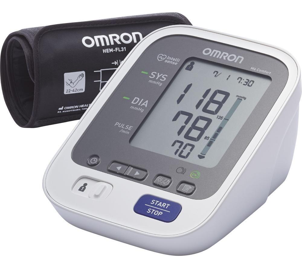 Image of OMRON M6 Comfort HEM-7321-E Upper Arm Blood Pressure Monitor