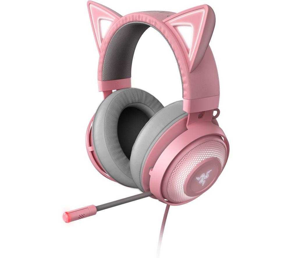 RAZER Kraken Kitty Edition 7.1 Gaming Headset - Pink