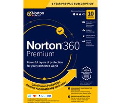 360 Premium - 1 year for 10 devices (download)
