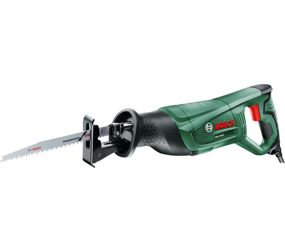 BOSCH PSA 700 E Reciprocating Saw - Green & Black