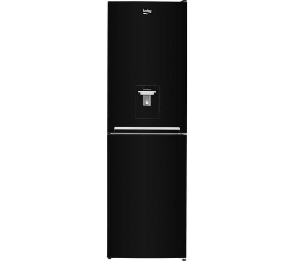 Image of BEKO CSG3582DB 50/50 Fridge Freezer - Black