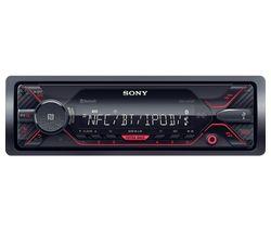 DSX-A410BT Smart Bluetooth Car Radio - Black