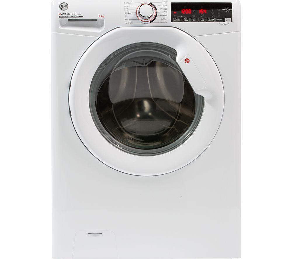 HOOVER H3W69TME NFC 9 kg 1600 Spin Washing Machine - White