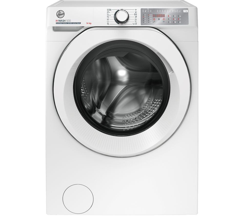 HOOVER H-Wash 500 HWB 414AMC WiFi-enabled 14 kg 1400 Spin Washing Machine - White